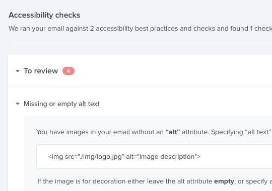 Checklist accessibility testing