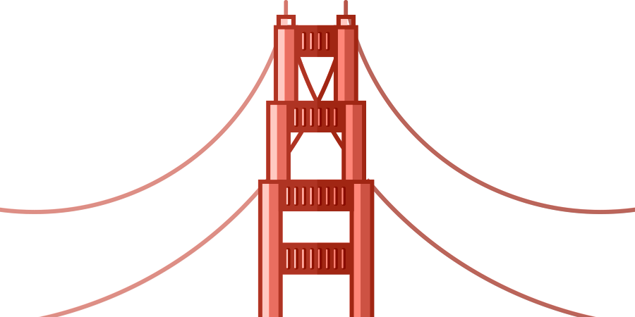 San francisco illustration