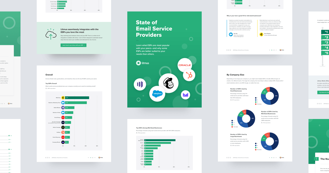 2019 State of Email Service Providers - Ebook Cover Art and Thumbnails