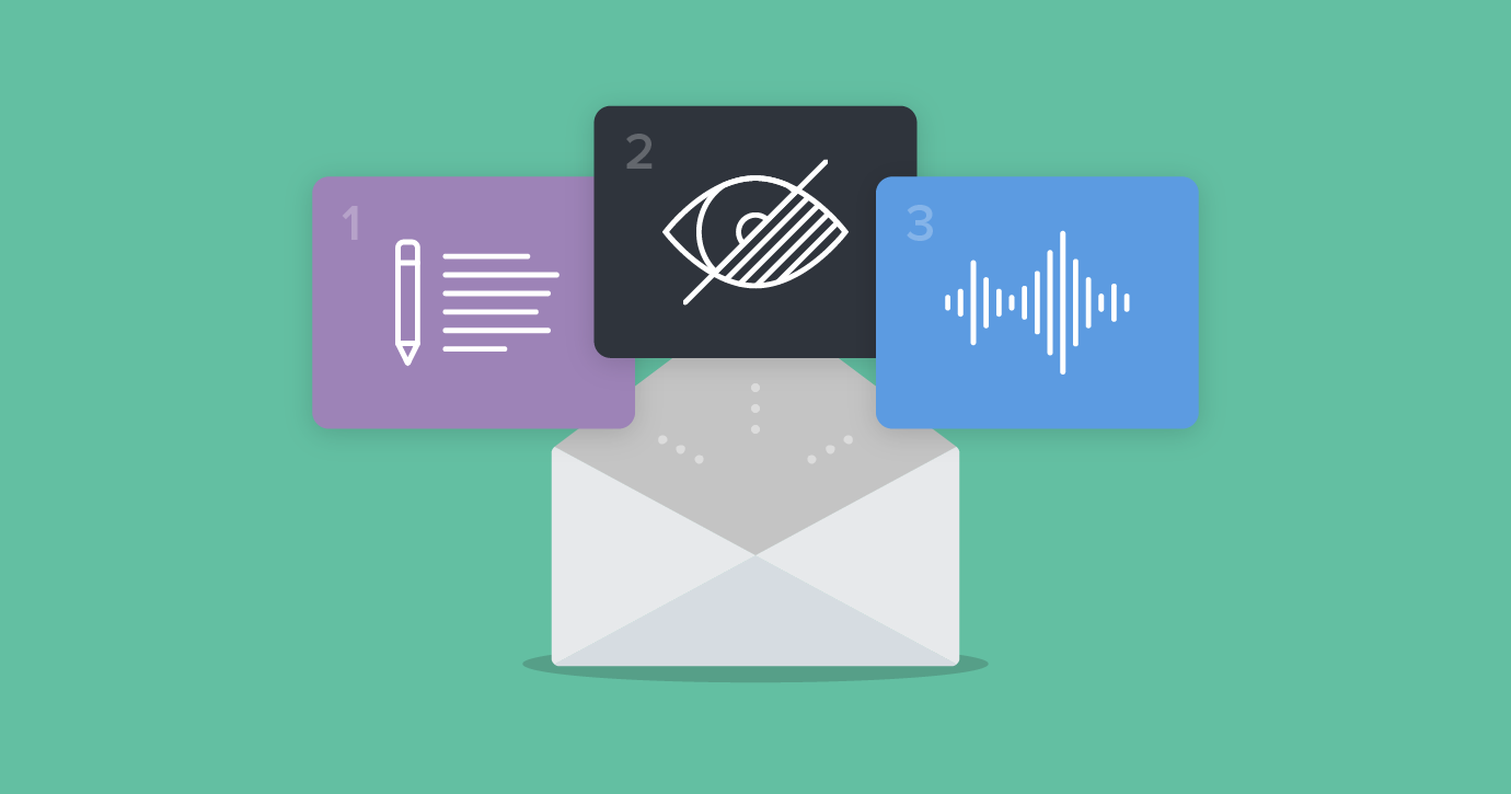 Email Accessibility Webinar: How to Make Email for Everyone in 3 Easy Steps