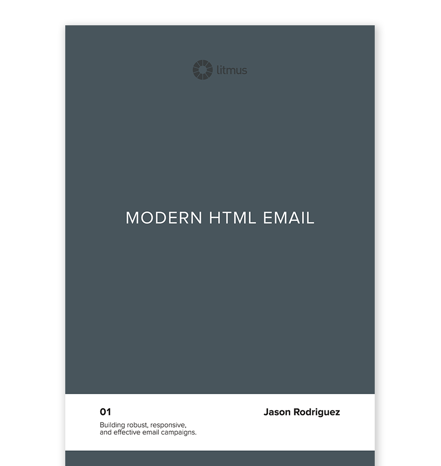 Modern HTML Email Litmus - Build an html email template from scratch